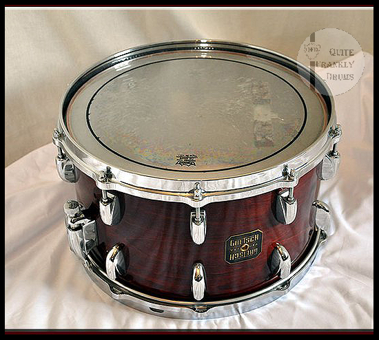 1980's GRETSCH POWER JAZZETTE SNARE QUITE FRANKLY DRUMS