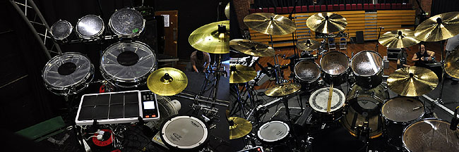 Graham Collins The Pink Floyd DW Drum Kit